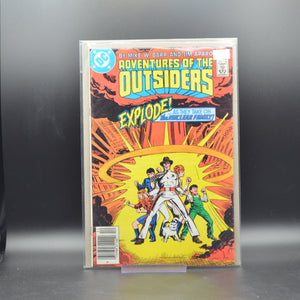 ADVENTURES OF THE OUTSIDERS #40