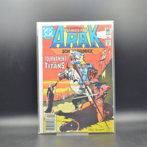 ARAK: SON OF THUNDER #5