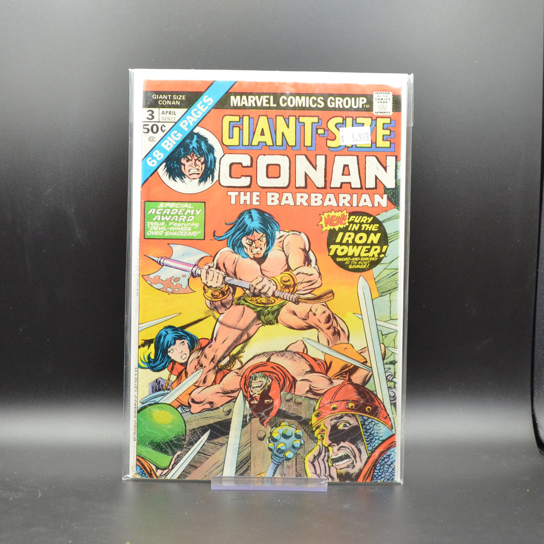 GIANT-SIZE CONAN THE BARBARIAN #3