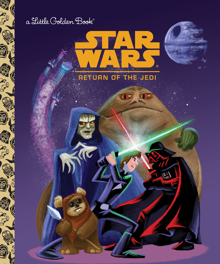 STAR WARS LITTLE GOLDEN BOOK RETURN OF JEDI - 2 Geeks Comics