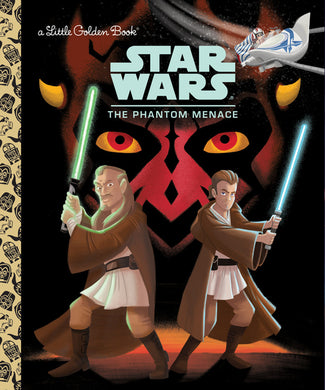 STAR WARS LITTLE GOLDEN BOOK PHANTOM MENACE - 2 Geeks Comics
