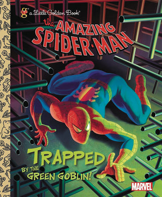 SPIDER-MAN TRAPPED BY GREEN GOBLIN LITTLE GOLDEN BK REISSUE - 2 Geeks Comics