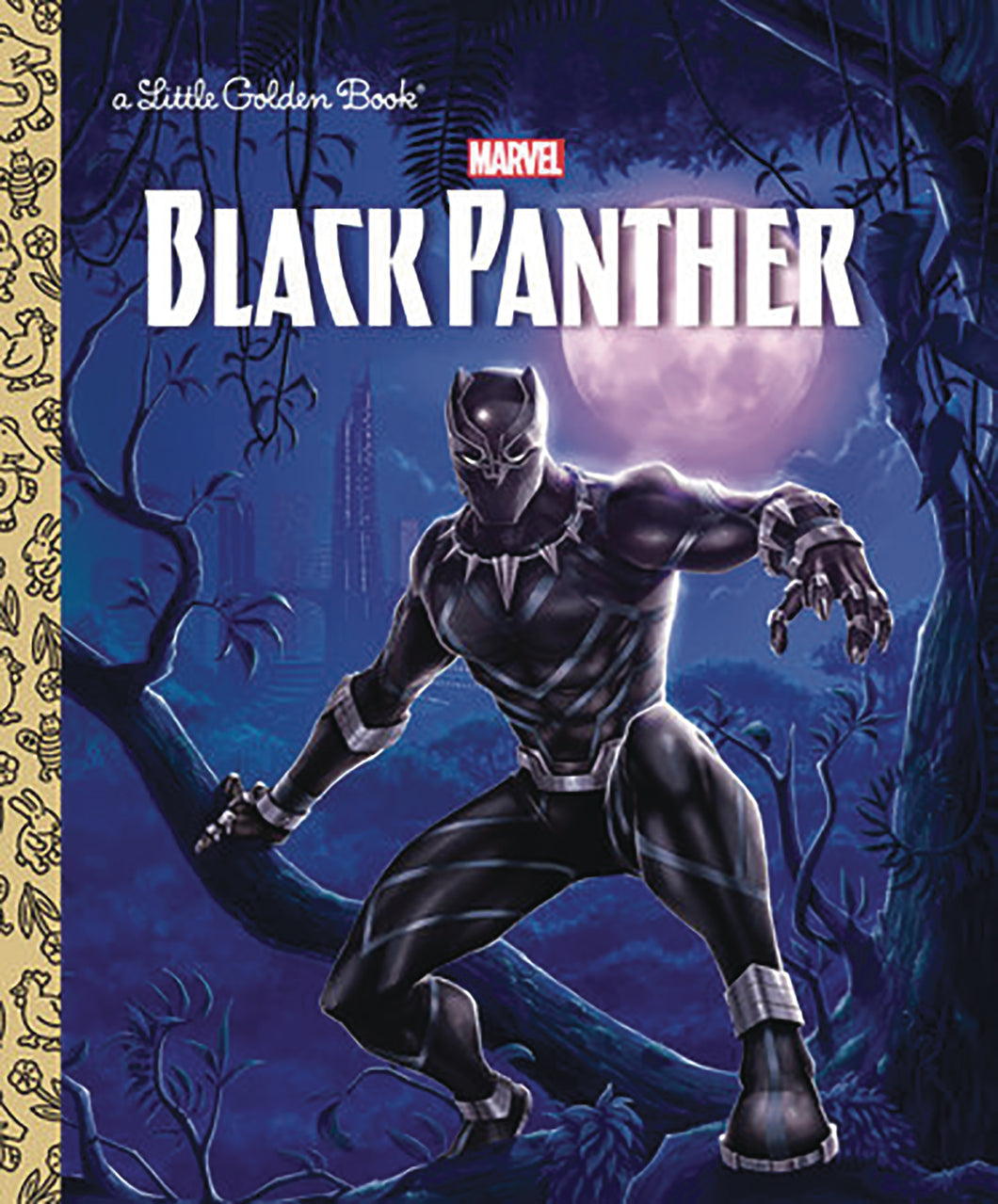 BLACK PANTHER LITTLE GOLDEN BOOK (C: 1-1-0)