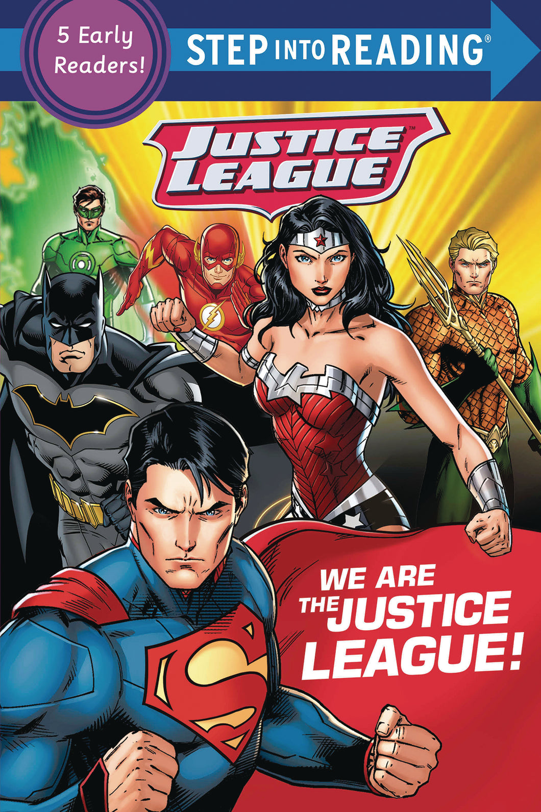 WE ARE THE JUSTICE LEAGUE STEP INTO READING SC (C: 0-1-0) - 2 Geeks Comics