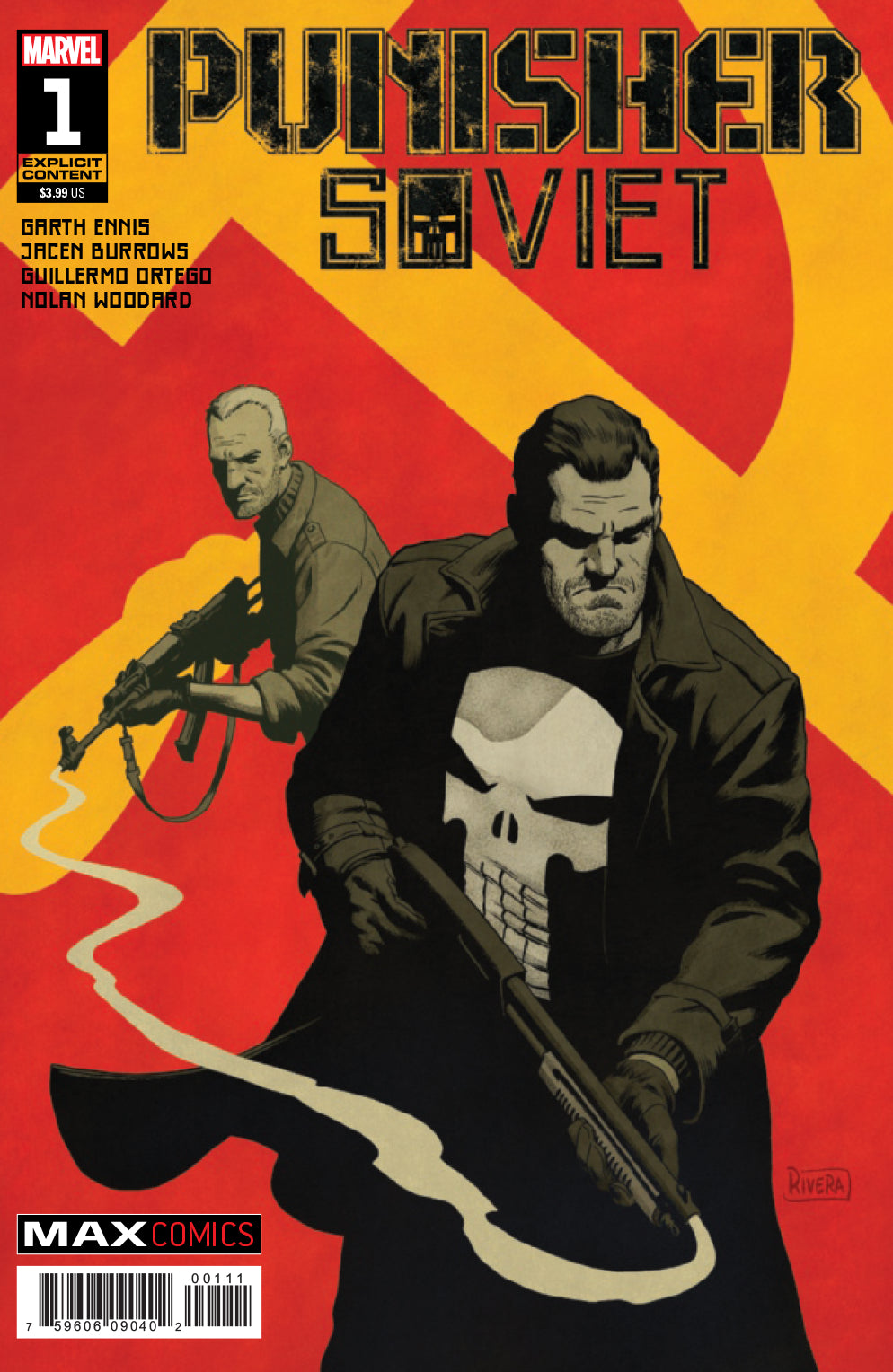 PUNISHER SOVIET #1 (OF 6) (MR) - 2 Geeks Comics