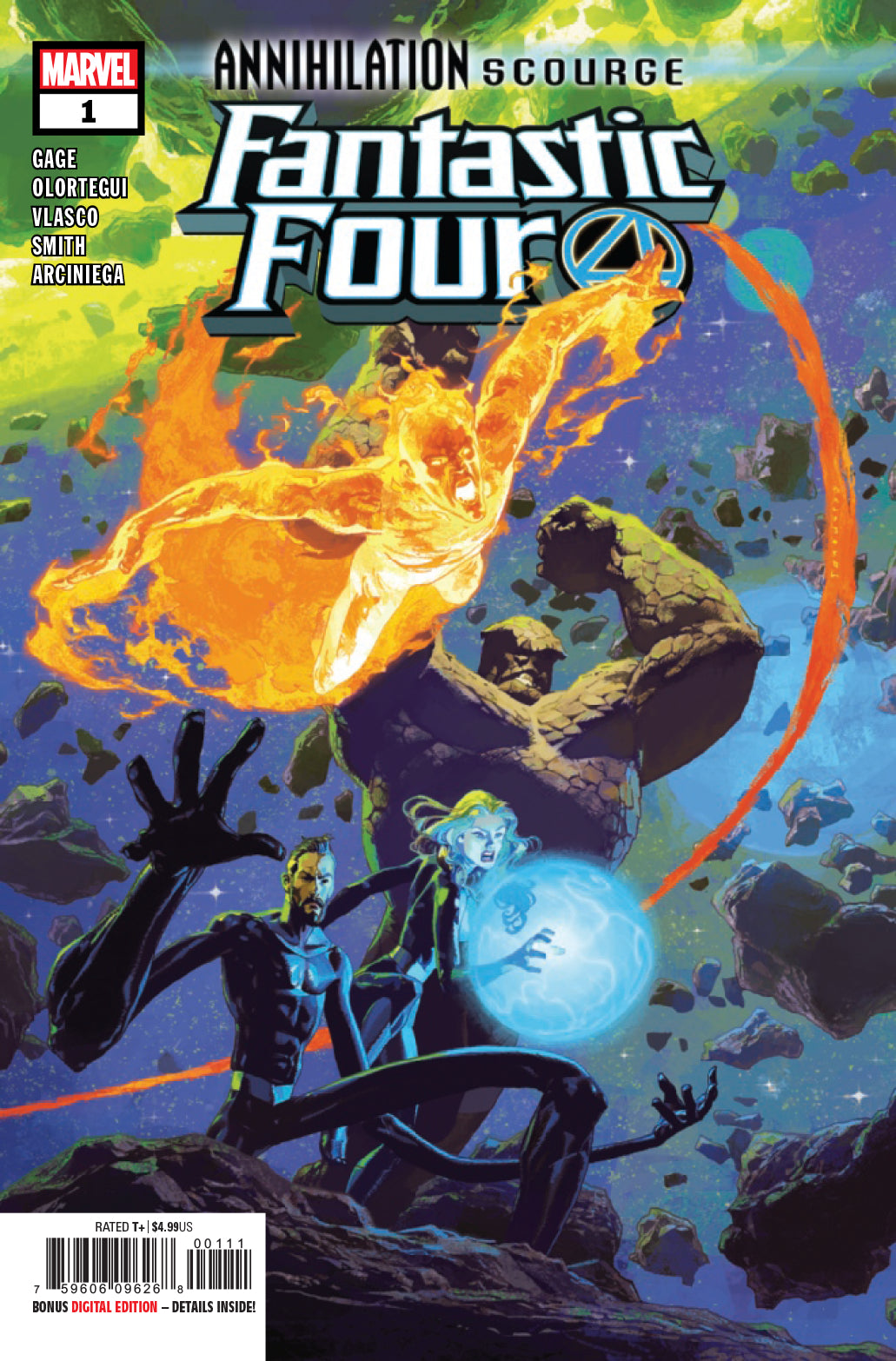 ANNIHILATION SCOURGE FANTASTIC FOUR #1 - 2 Geeks Comics