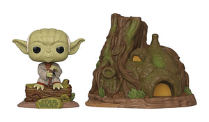 POP TOWN STAR WARS YODAS HUT VIN FIG (C: 1-1-2)