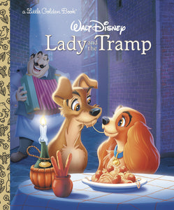 LADY & THE TRAMP LITTLE GOLDEN BOOK (C: 1-1-0) - 2 Geeks Comics