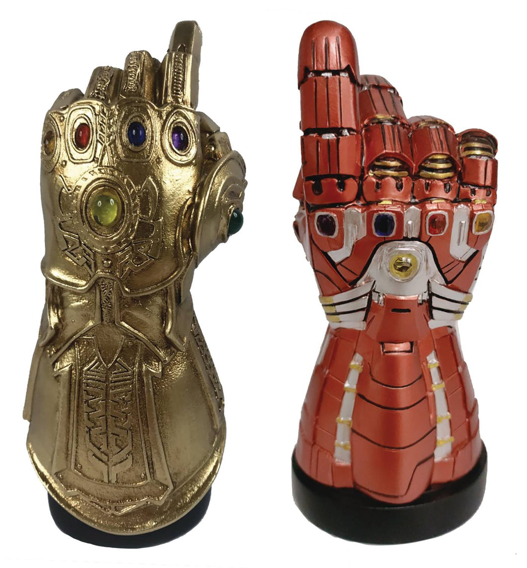 SDCC 2020 MARVEL INFINITY/NANO GAUNTLET LED PX DESK MONUMENT