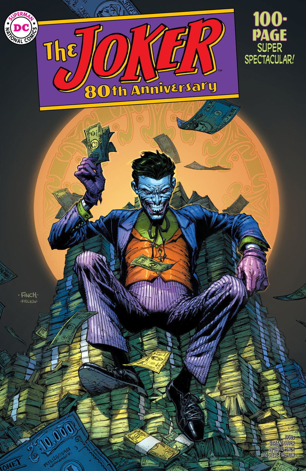 JOKER 80TH ANNIV 100 PAGE SUPER SPECT #1 1950S DAVID FINCH V - 2 Geeks Comics