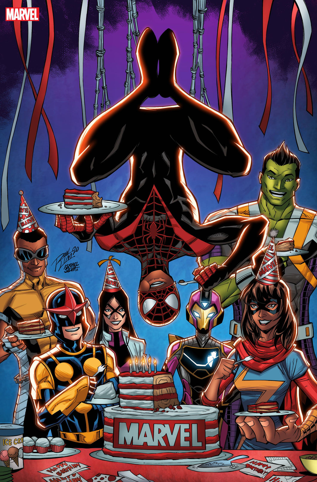 MILES MORALES SPIDER-MAN #18 BIRTHDAY VAR OUT (NET)