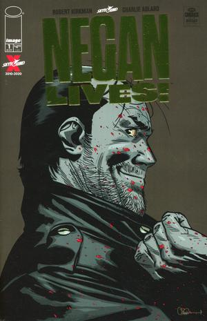 NEGAN LIVES #1 Gold Variant Cover - 2 Geeks Comics