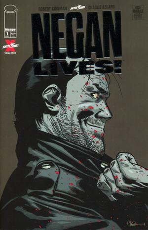 Copy of NEGAN LIVES #1 Silver Variant Cover - 2 Geeks Comics