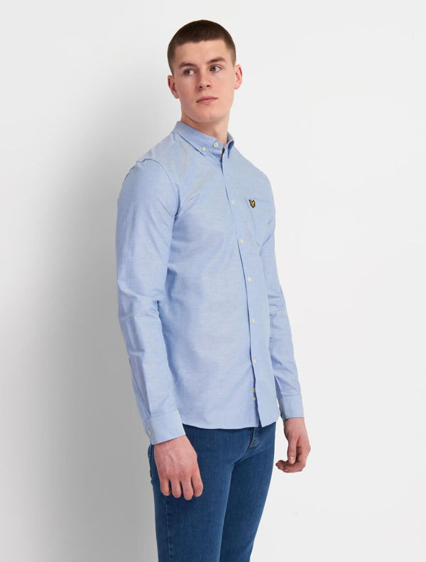 Lyle & Scott - Oxford Plain Shirt - Light Blue