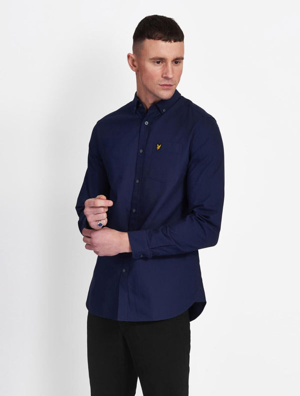 Lyle & Scott - Oxford Plain Shirt - Navy