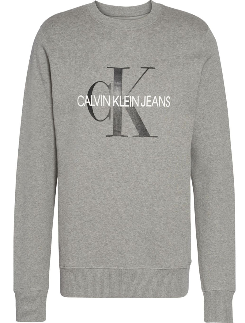 Calvin Klein - Iconic Monogram Sweat - Grey