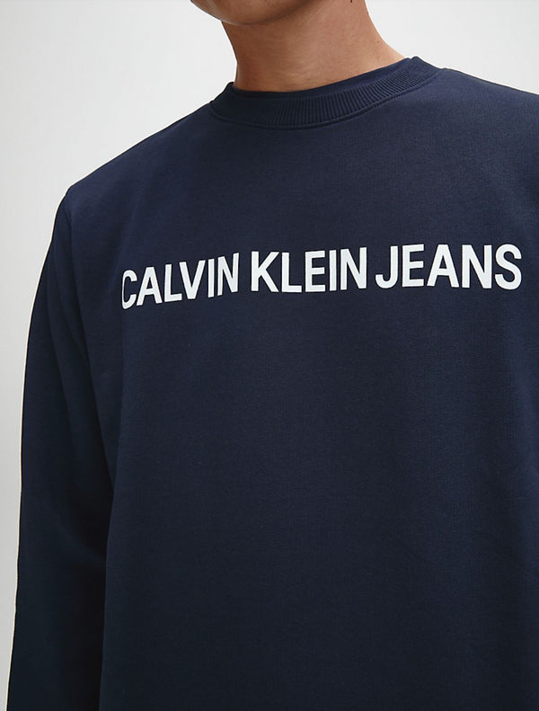 Calvin Klein - Institutional Core Sweat - Navy