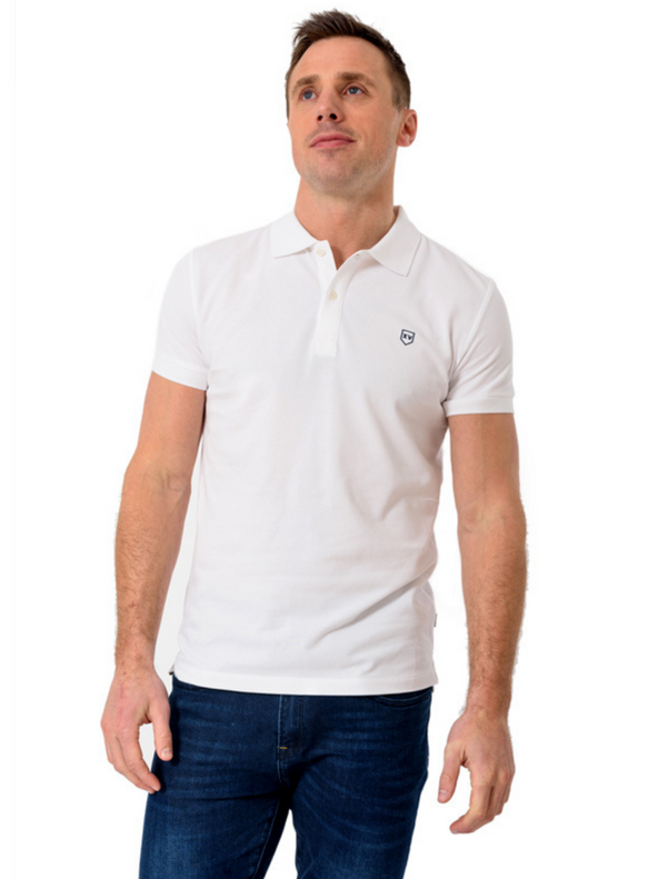 XV Kings – Collaroy Plain Polo Top – White