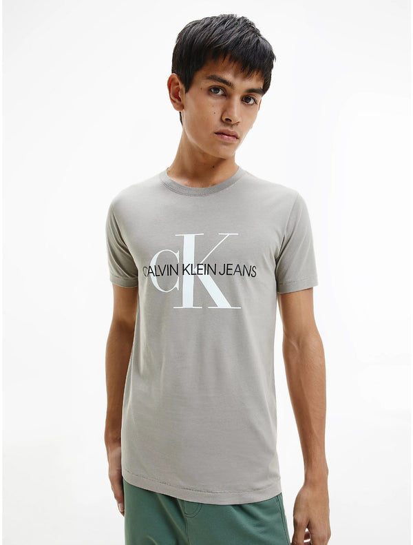Calvin Klein - Seasonal Monogram T-Shirt - Beige