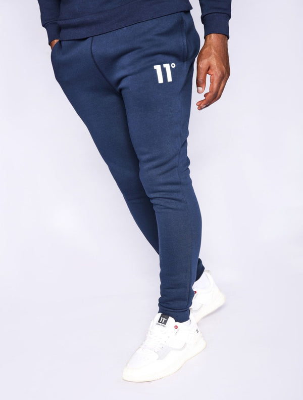 11 Degrees - Core Skinny Joggers - Navy