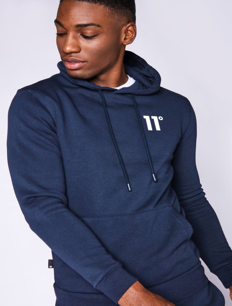 11 Degrees - Pullover Hoodie - Navy