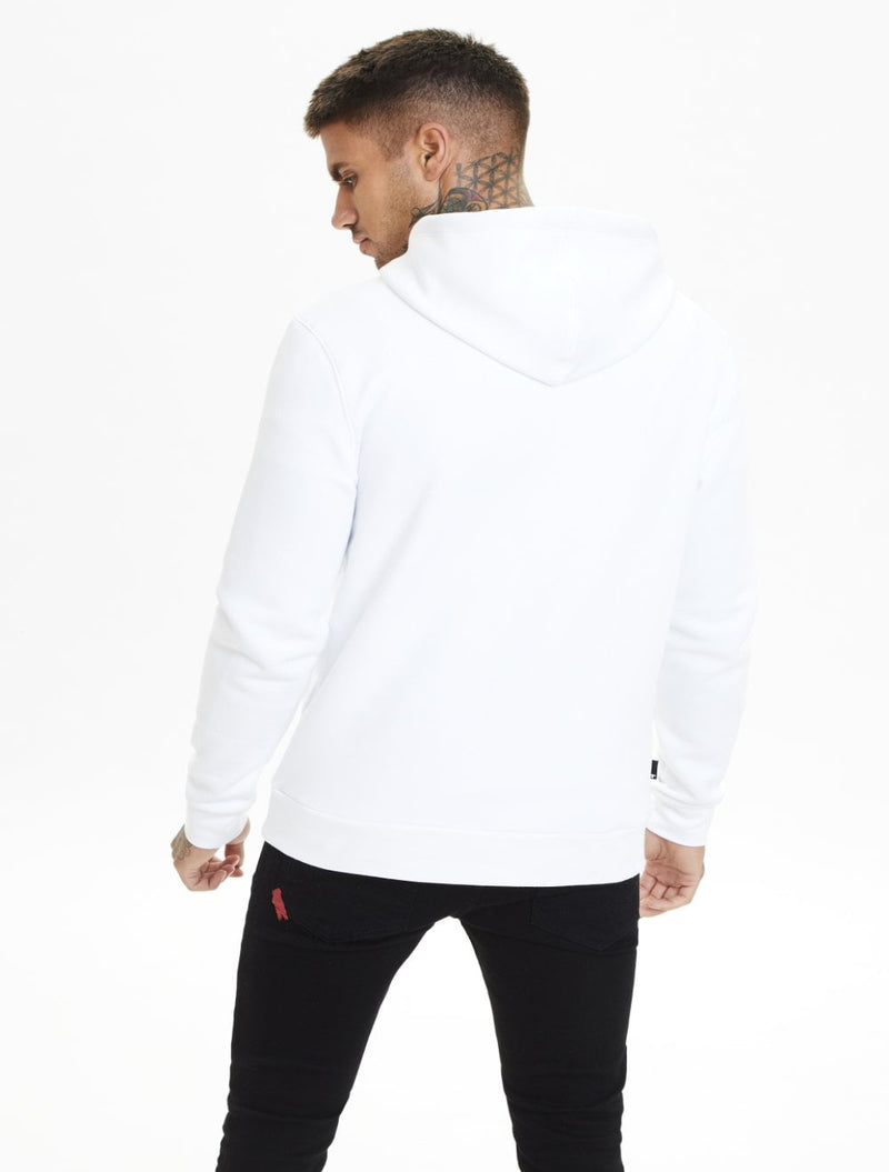 11 Degrees - Pullover Hoodie - White