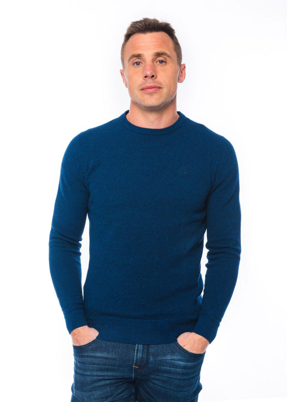 XV Kings - Norfolk Crew Knit - Dark Blue