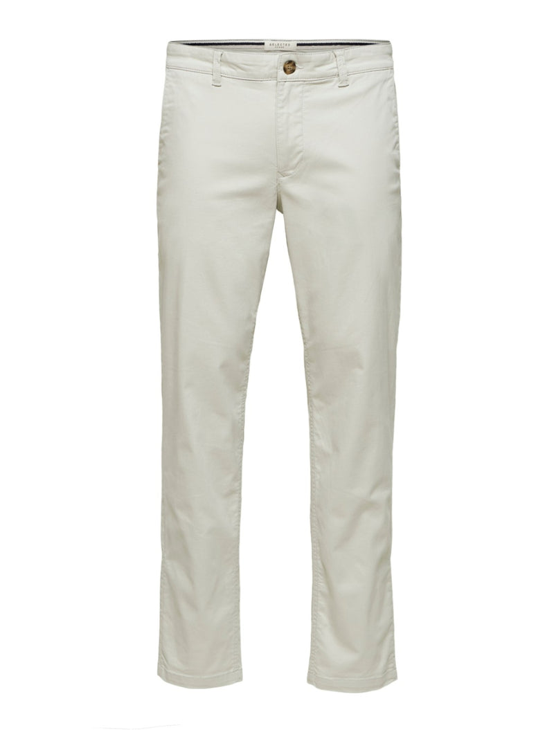 SELECTED - FLEX CHINO - light beige