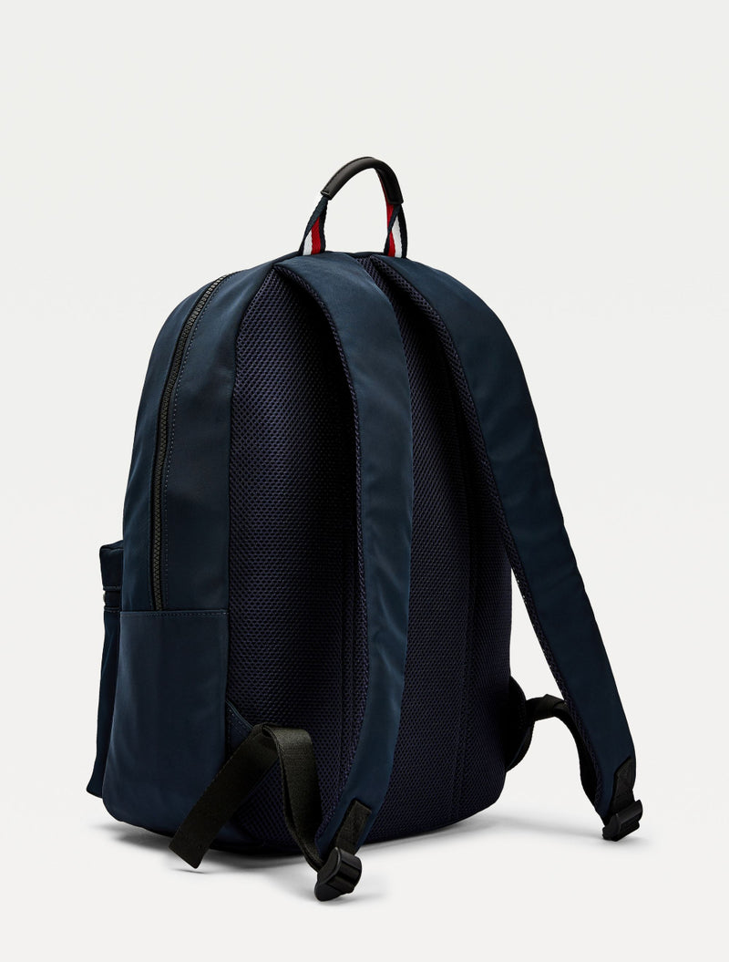 Tommy Hilfiger - Logo Backpack - Light Blue & Navy