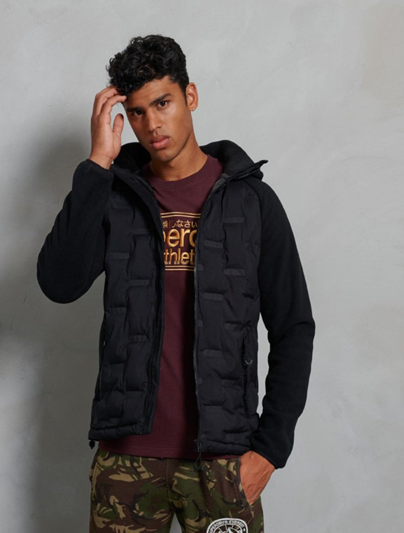 Superdry - Sonic Hybrid Jacket - Black