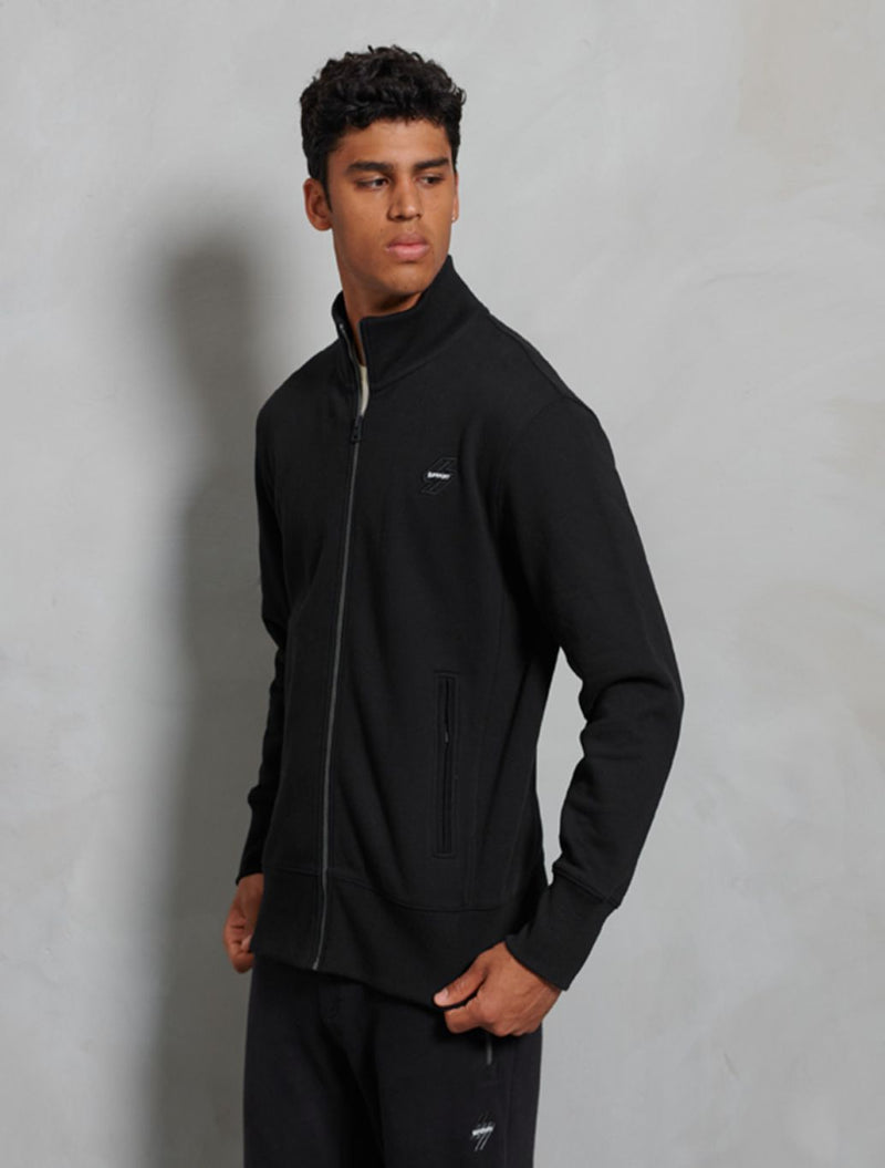 Superdry - Sports Track Top - Black