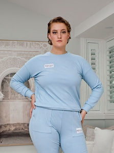 Comfort Queen - Top - Sky Blue