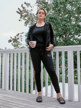 Load image into Gallery viewer, Sassy Tracksuit - Jacket - Black Leopard