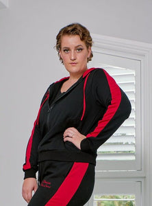 Sassy Tracksuit - Jacket - Racy Red