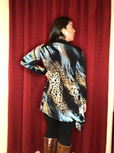 Load image into Gallery viewer, Waterfall Cardigan - Cosmic Leopard (Pre-Order)