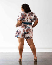Load image into Gallery viewer, Havana Playsuit - Palm Leaf Print