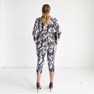 Orchid Jacket in Cosmos Print