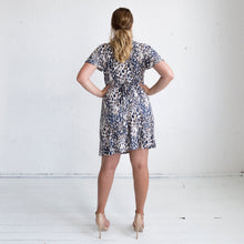 Load image into Gallery viewer, Hollywood Wrap Dress - Leopard Print
