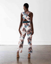Load image into Gallery viewer, Miami Jumpsuit - Palm Leaf Print