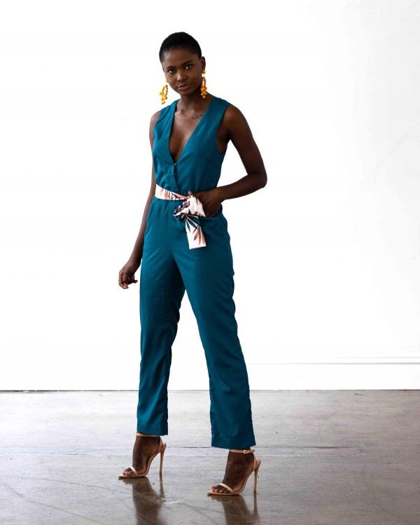 Miami Jumpsuit - Teal