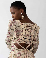 Load image into Gallery viewer, Floral Chiffon Dress