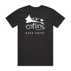 THE CATLINS BREWERY LOGO T-SHIRT