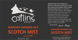 MANUKA SMOKED ALE SCOTCH MIST