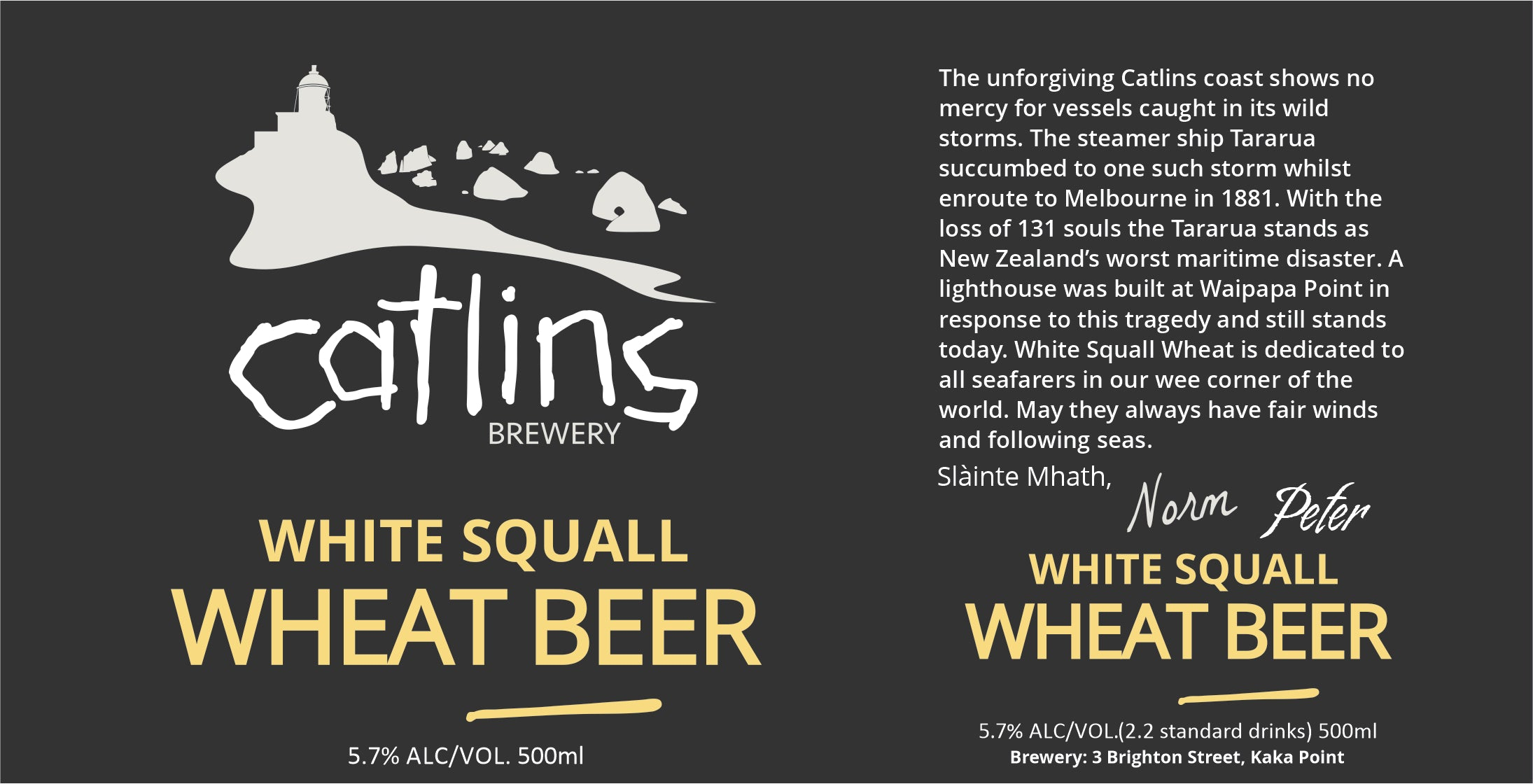 WHEAT BEER - WHITE SQUALL