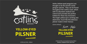 YELLOW EYED PILSNER
