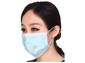 20pcs Disposable Face Masks, 3-Ply Face Masks Protective for Smoke, Dust, Pollen, etc,