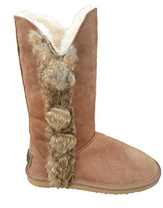 REED Women's Real Fur & Leather Boots