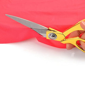 "eZthings 12"" Upholstery Shears Heavy Duty Scissors for Cutting Arts and Craft Fabrics, Carpets"
