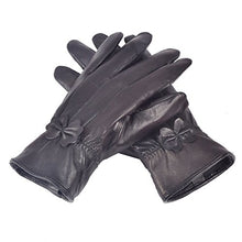 Load image into Gallery viewer, Reed Women's Genuine Leather Warm Lined Driving Gloves