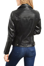 Load image into Gallery viewer, REED EST. 1950 Women's Jacket Genuine Lambskin Leather Biker Fashion Coat